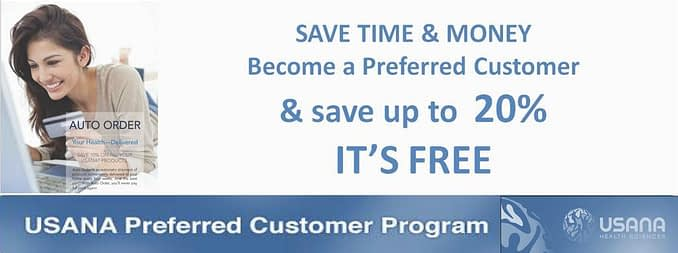 usana preferred customer